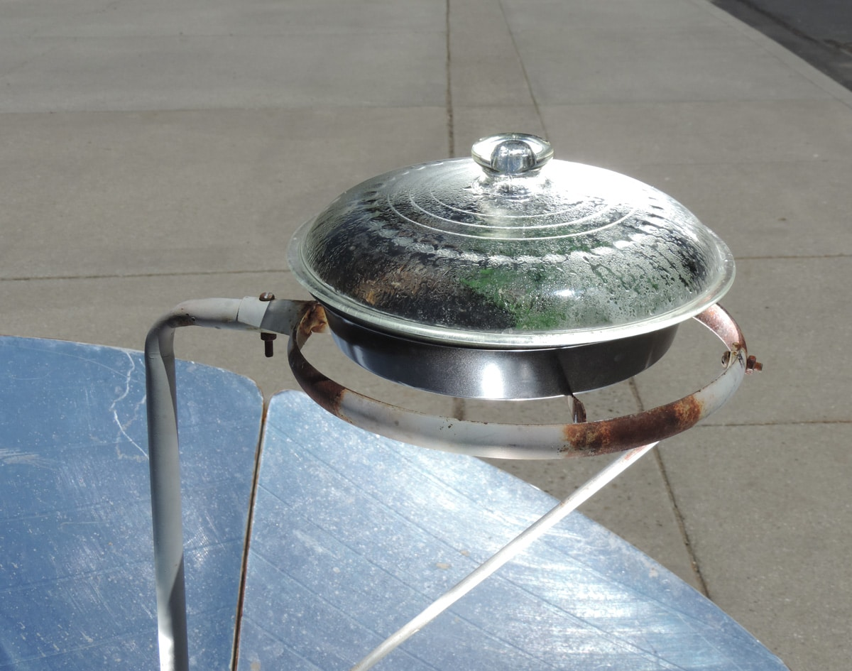 Cooking With A Parabolic Solar Cooker Preparedness