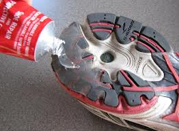 Shoe Goo Useful For Repairing Tennis Shoes Boots And Rain Gear