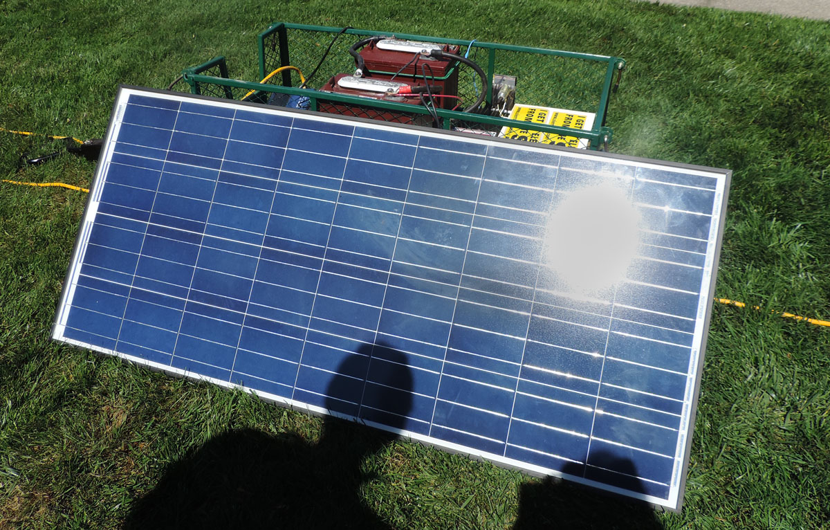 Solar Wagons Can Provide Off Grid Electric Power