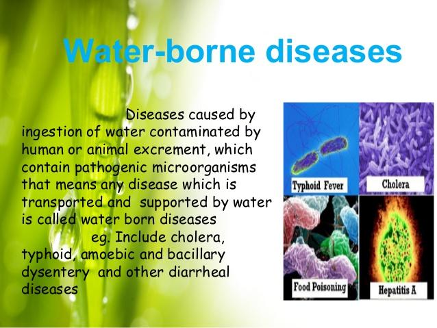 water borne diseases