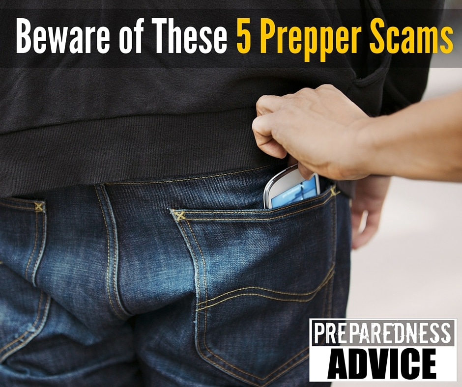 prepper scams