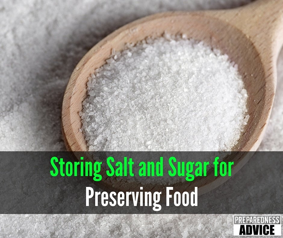 storing salt and sugar