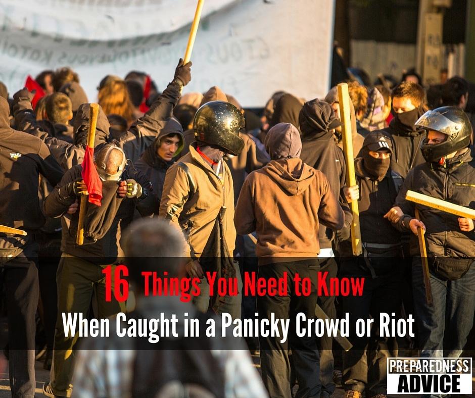 panic crowd riot