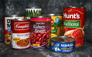 Long Life Canned Food