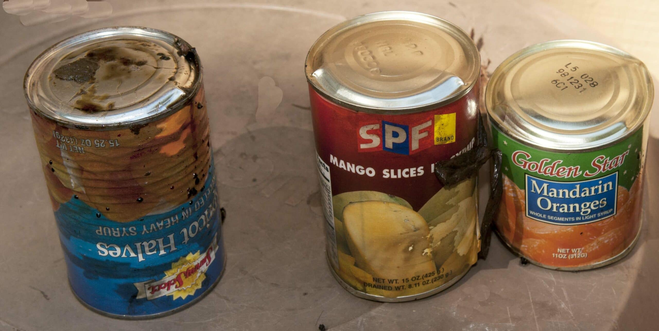 Problems with the Shelf Life of Foreign Canned Foods ...