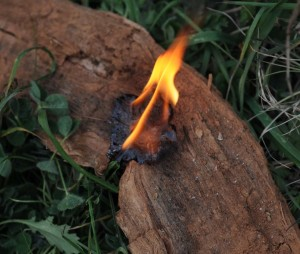 Starting Fires with Resin – 12/29/11