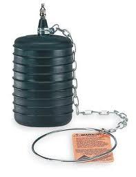a pneumatic type sewer plug
