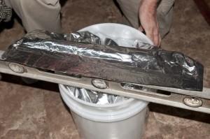 sealing food in five gallon buckets