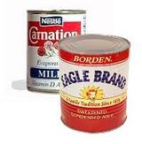 Evaporated and Condensed Milk – 3/20/12