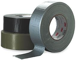Duct tape comes in different colors