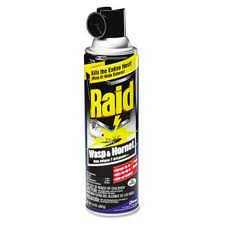 wasp spray - using it for self defence?