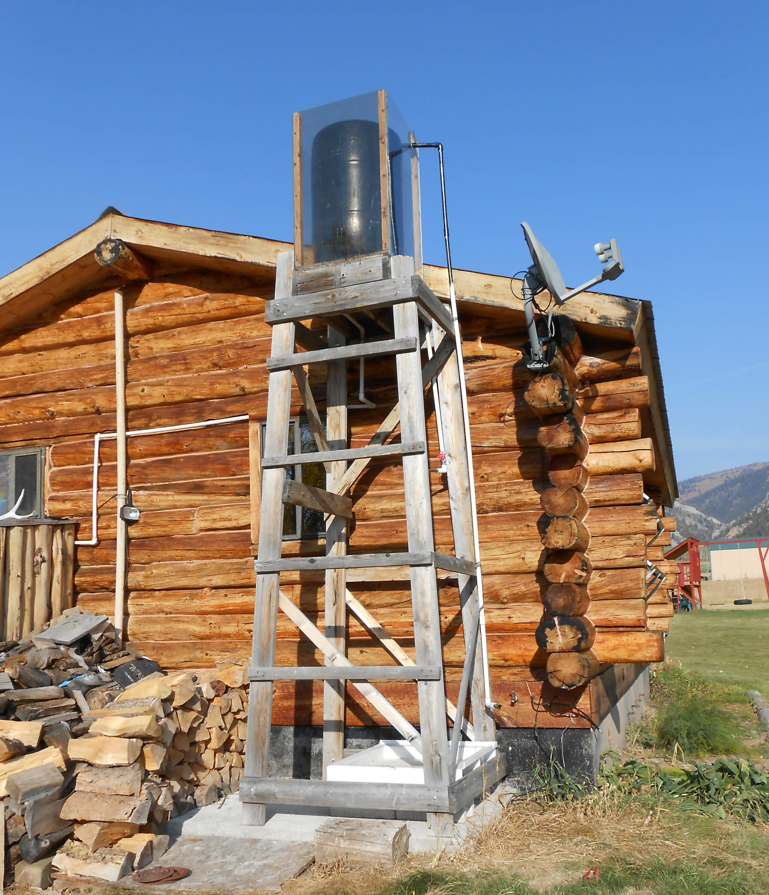 A Friend Of Mine Built An Outdoor Shower While Back You Can See It In The Attached Picture