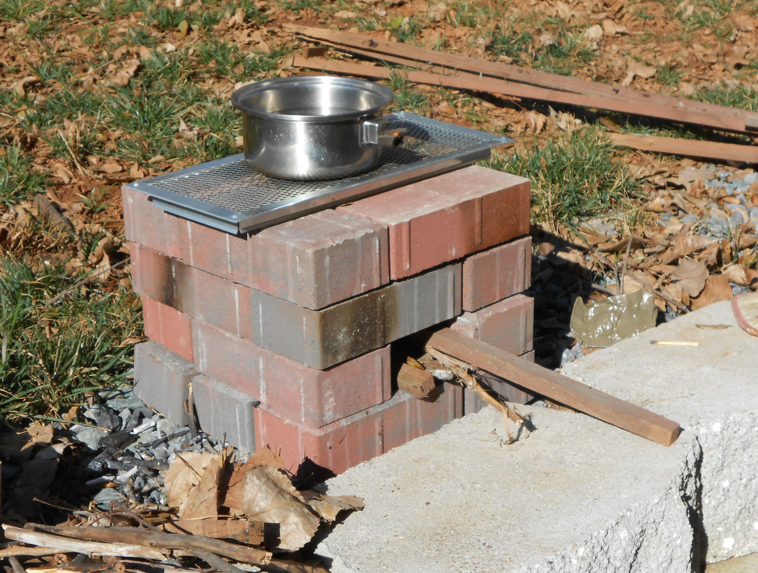 16 brick rocket stove preparedness advicepreparedness advice