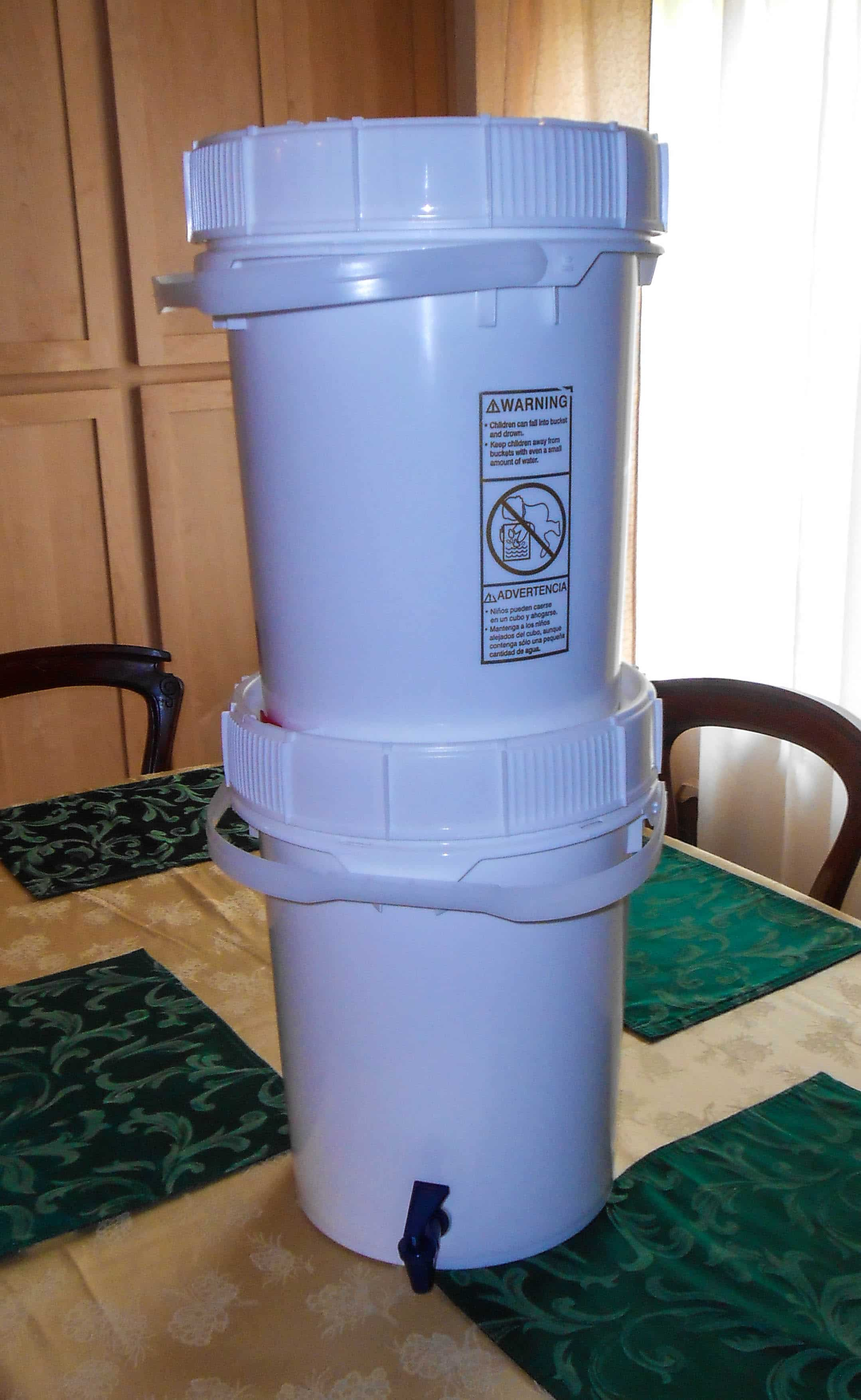 An Inexpensive Water Filter The Bucket Berkey