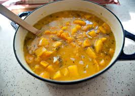 squash and winter soup