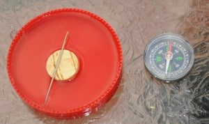 homemade compasses