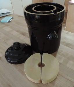 fermenting crock