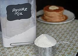 cake or pancake mixes