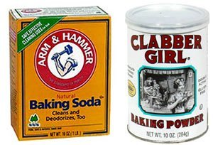 baking powder vs baking soda
