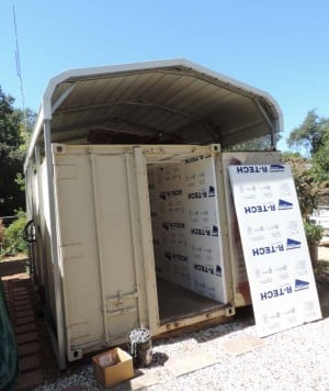 shipping containers and how to insulate them