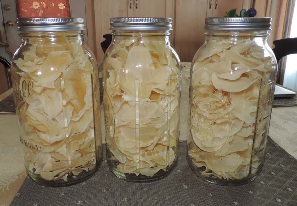 dehydrated potaoes