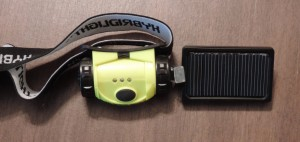 Hybrid Solar Headlamp