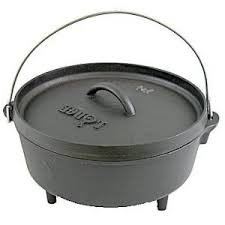 This is the style of Dutch oven you want for outdoor cooking