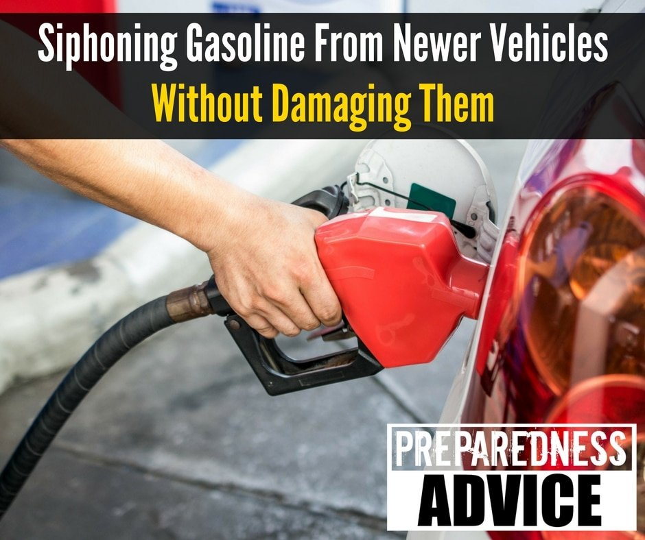 Siphoning Gasoline from Newer Vehicles without Damaging
