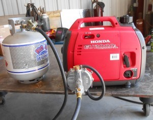 propane-powered motors