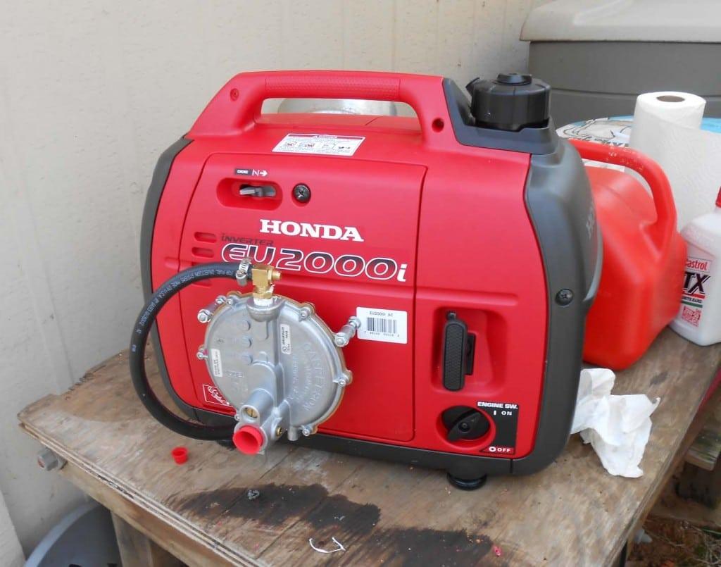 propane-powered motors