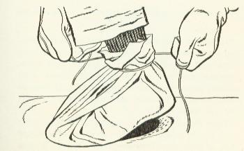 improvised footwear