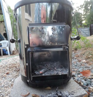 Survivor Rocket stove