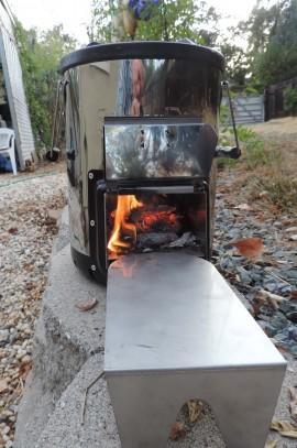 Survivor Rocket stove