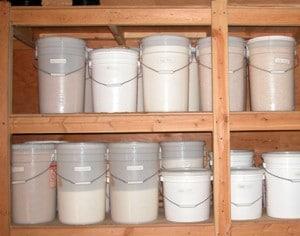 year's food storage