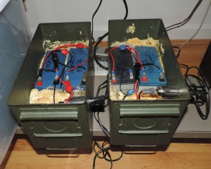 maintaining lead acid batteries