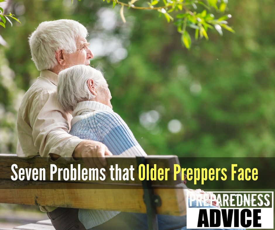 Seven Problems that Older Preppers Face via Preparedness Advice