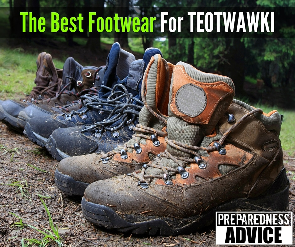 Footwear For TEOTWAWKI