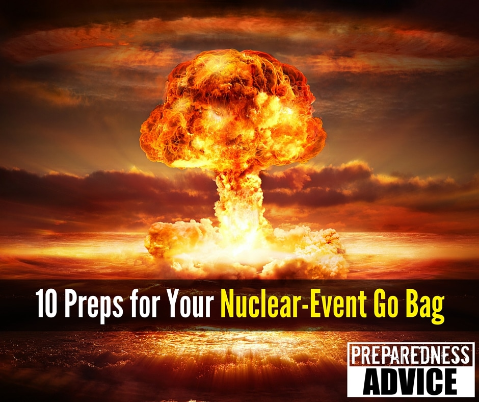 Prep Nuclear-Event Bag