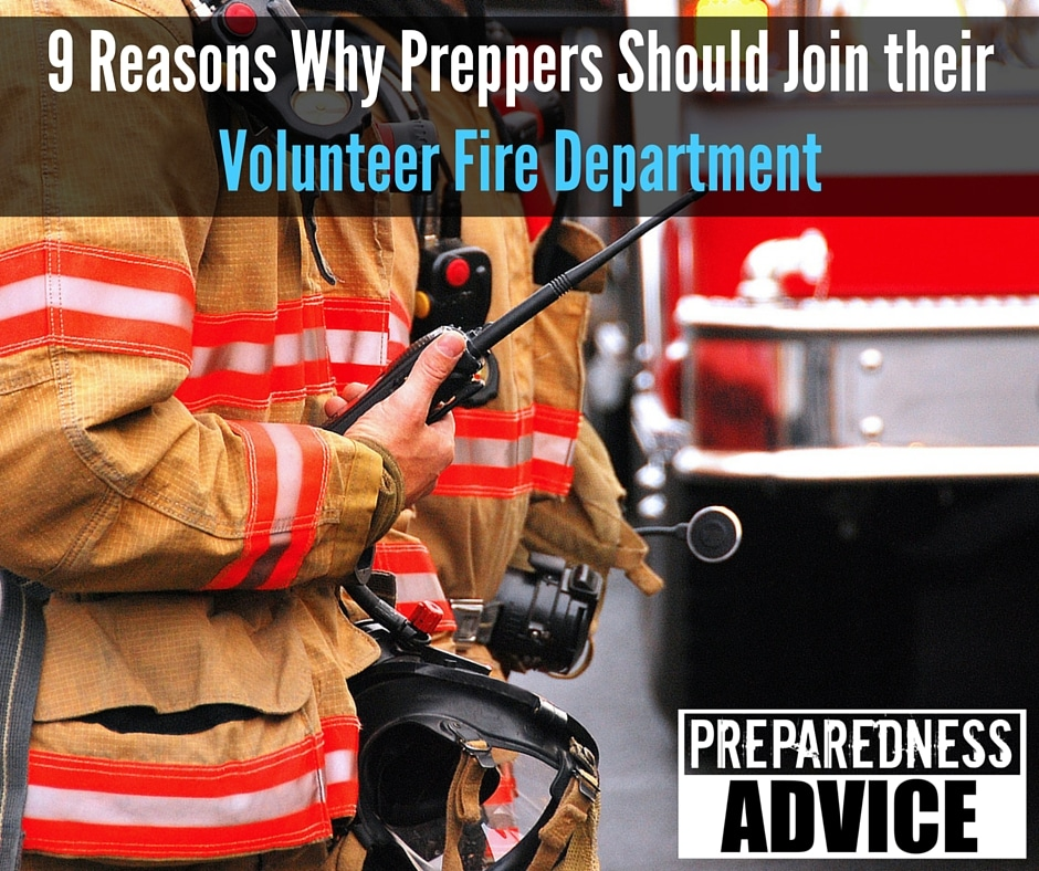 Preppers Join Volunteer Fire Department