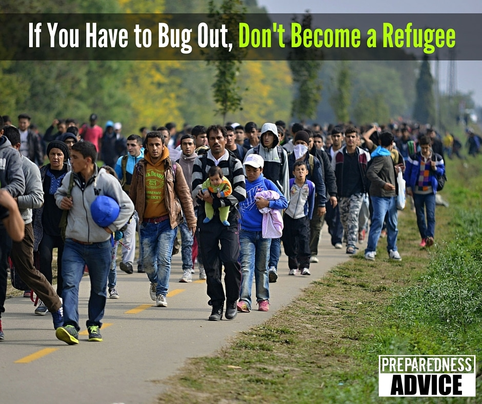 refugee bug out