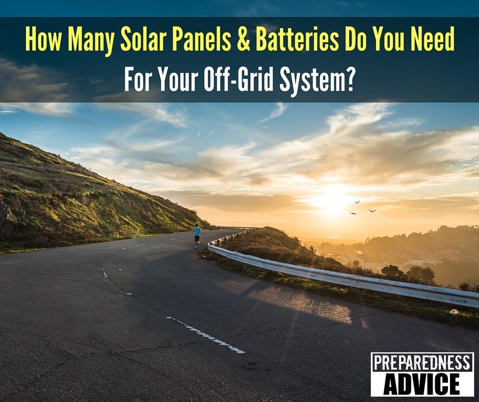 solar panels batteries