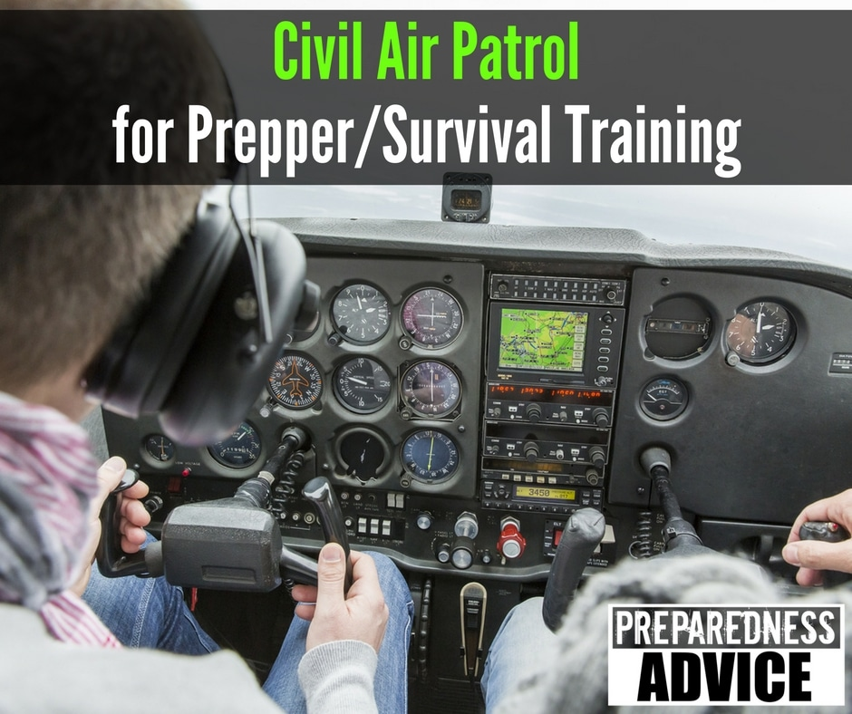 Civil Air Patrol survival training