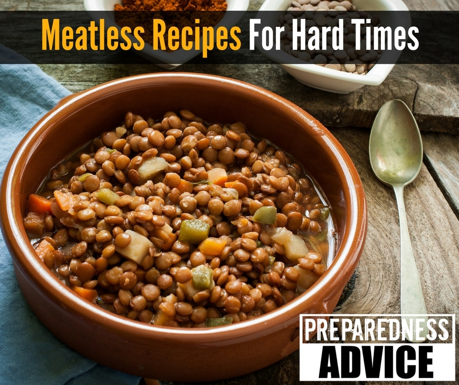Meatless Recipes For Hard Times