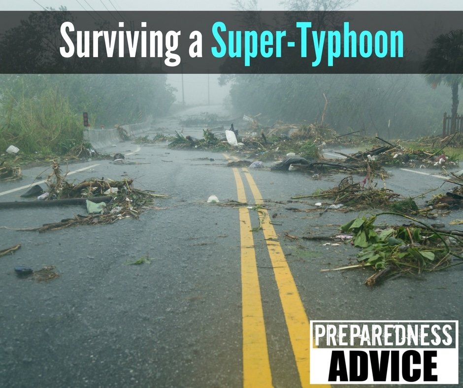 Surviving a Super-Typhoon
