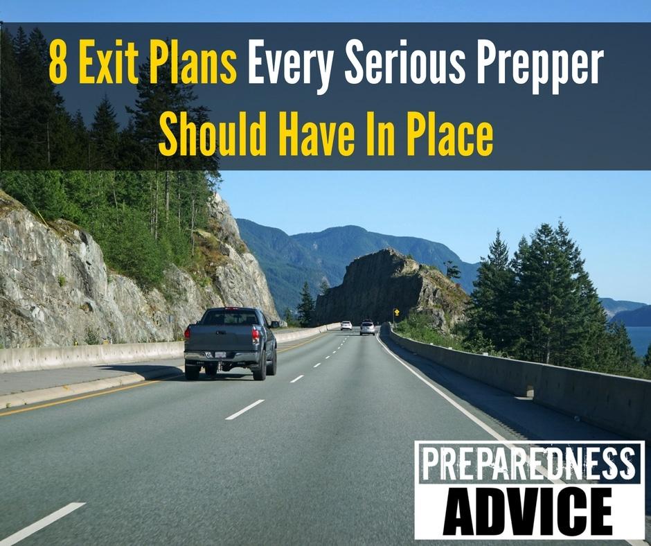 exit plans preppers