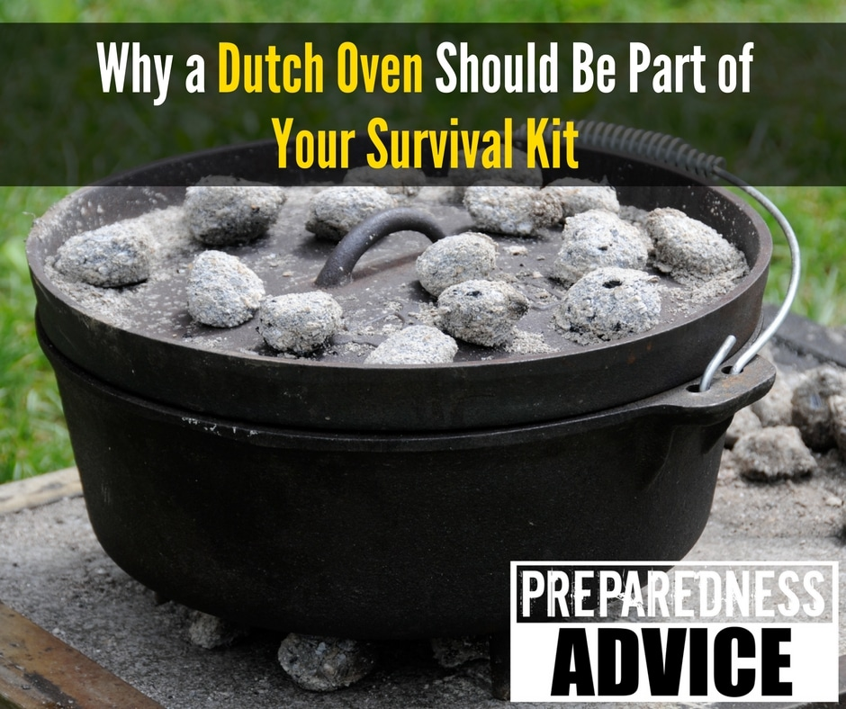 Why a Dutch Oven Should Be Part of Your Survival Kit