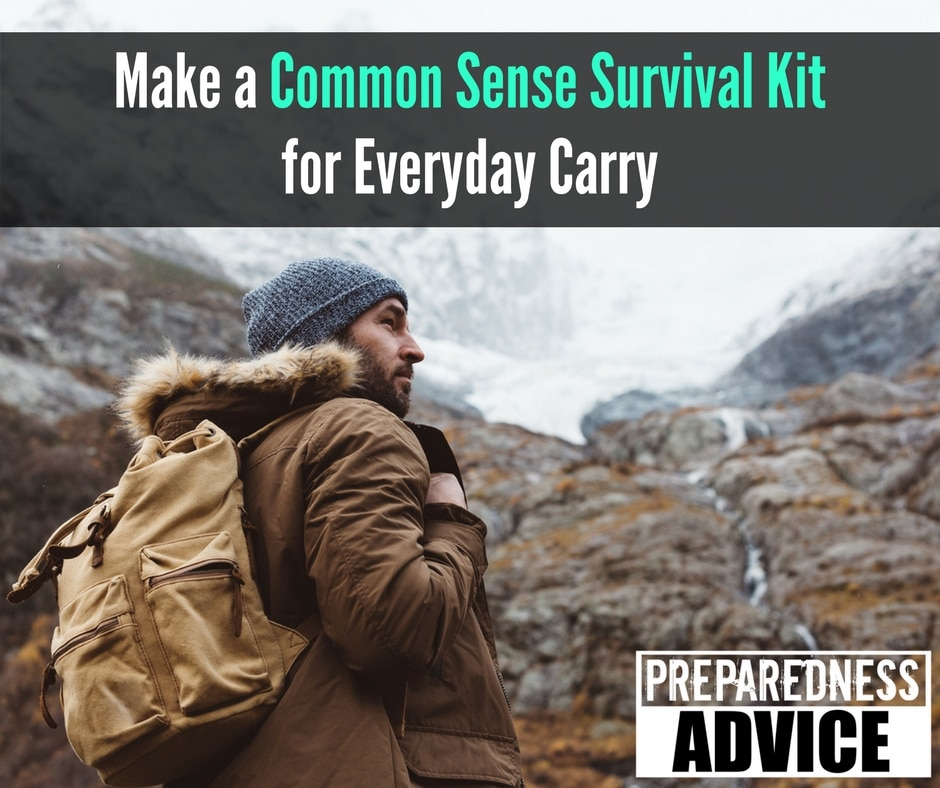 common sense survival kit