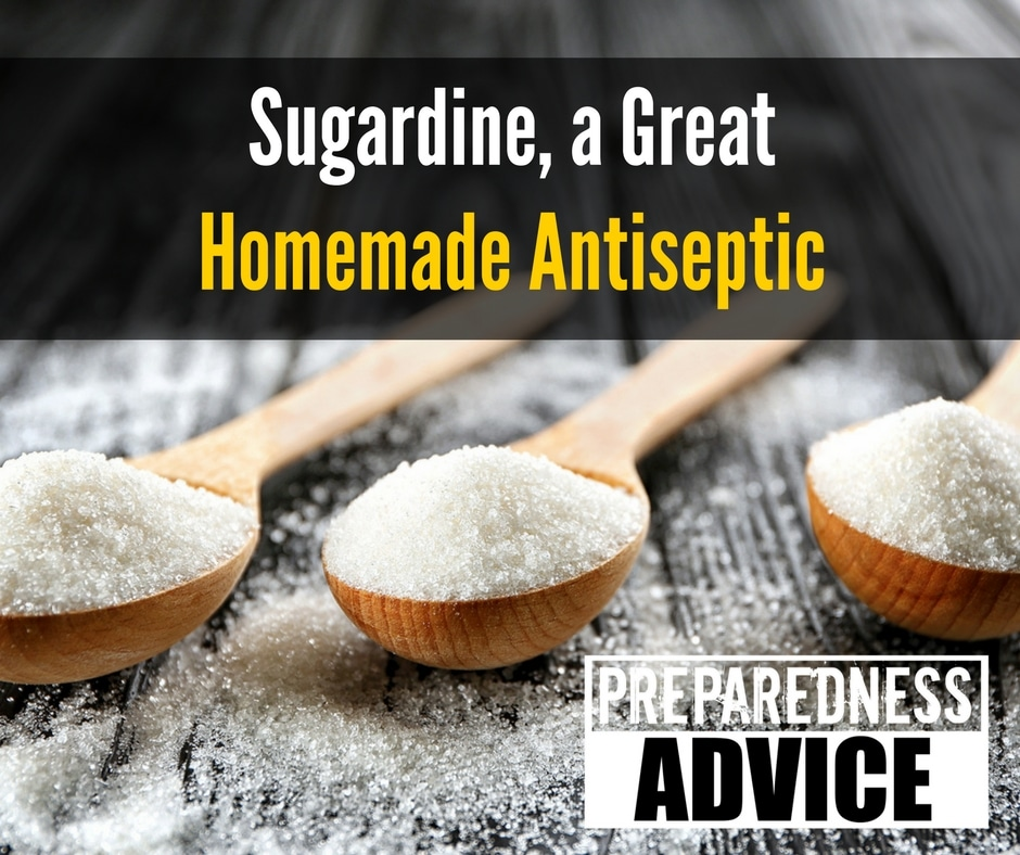 Sugardine a Great Homemade Antiseptic via Preparedness Advice