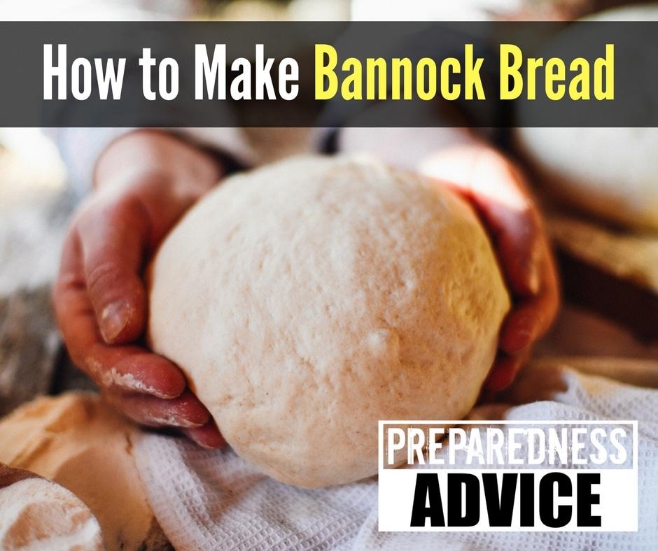 how to make bannock at home
