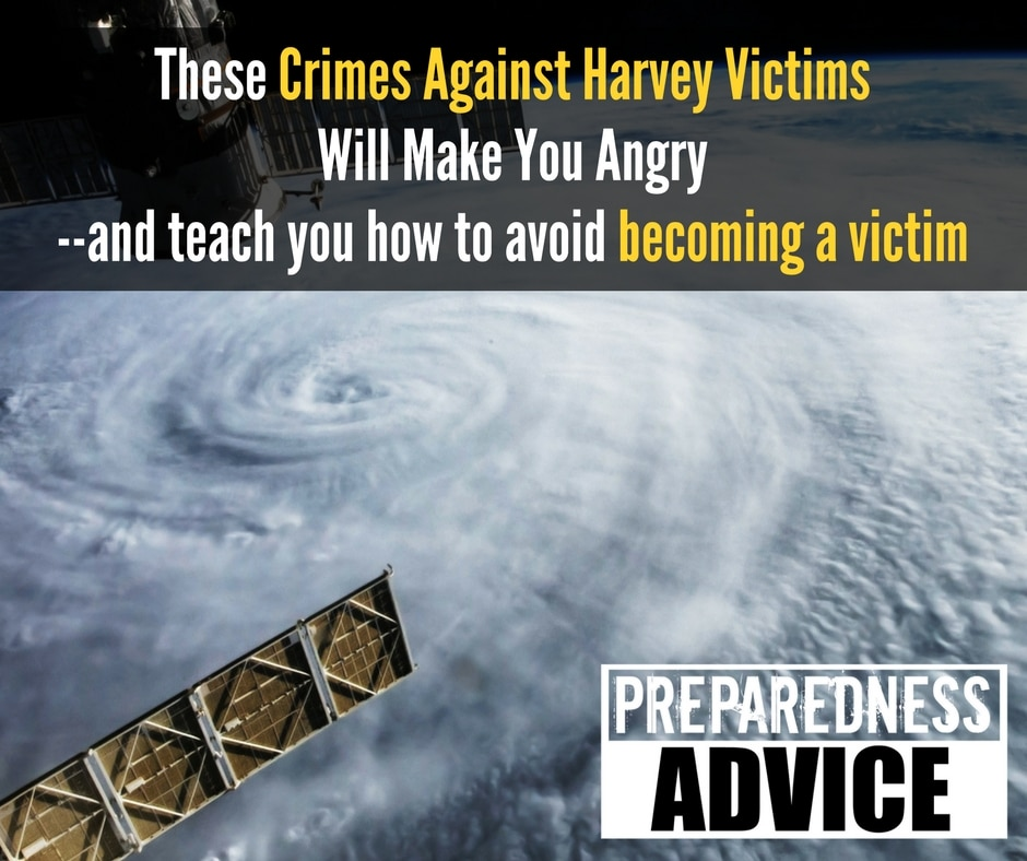 crimes against harvey victims